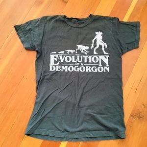 Other - Stranger Things Evolution if a Demigorgon tee